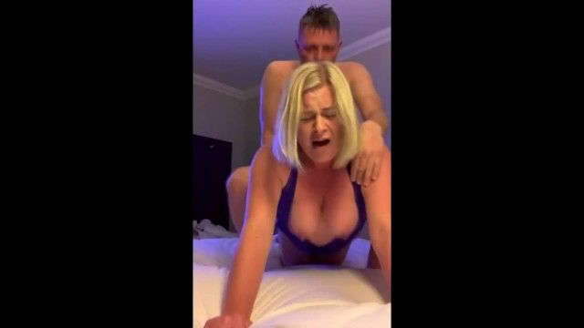 Breasty blond cumming indeed hard jointly