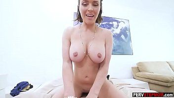Sexually excited breasty milf stepmom craves a stepsons bulky ramrod