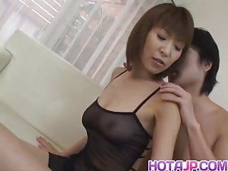 Jun kusanagi oriental milf receives slutty fur pie masturbated in gang