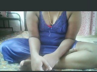 Desi indian aged milf shows bazookas and love tunnel on web camera