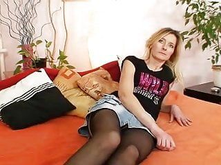 Slim unshaved slit milf antonie 1st time movie