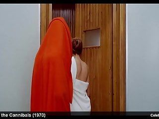 Celebrity actress britt ekland nude and erotic movie scene scenes