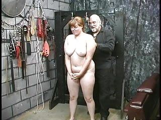 Cute juvenile dark brown bondman cutie disrobes stripped for humiliation play in basement