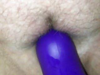 Milf orgasmos quando brinco com sua vibração de coelho milf