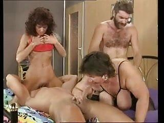 Thick thin mammas copulates with two studs