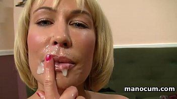 Large boobed milf giving cook jerking in pov and taking a jism discharged