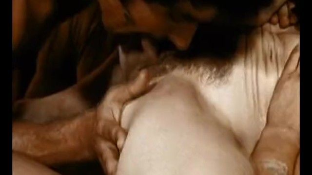Unfathomable mouth 1970 classic scene two milf invite allies for fuckfest sex party