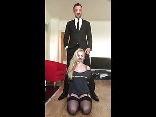 Pascalssubsluts - stylish older acquires her immodest butt screwed and fed jiz