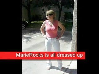Marierocks, fifty milf - hawt undressing