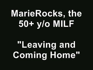 Marierocks, fifty milf - voyeur view of me