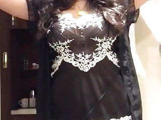 Hawt indian undress tease